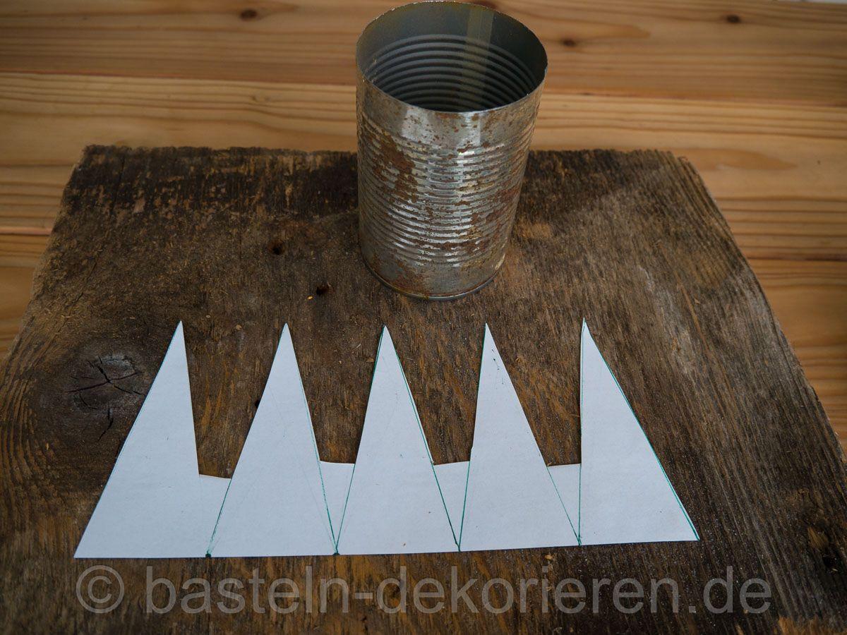 schablone f r kronenzacken garten krone basteln basteln und blechdosen basteln. Black Bedroom Furniture Sets. Home Design Ideas