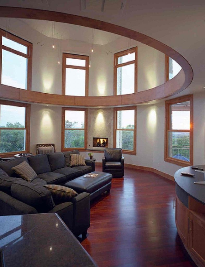 Home Design Vocabulary Part - 25: Interior Design For A Circular Room4