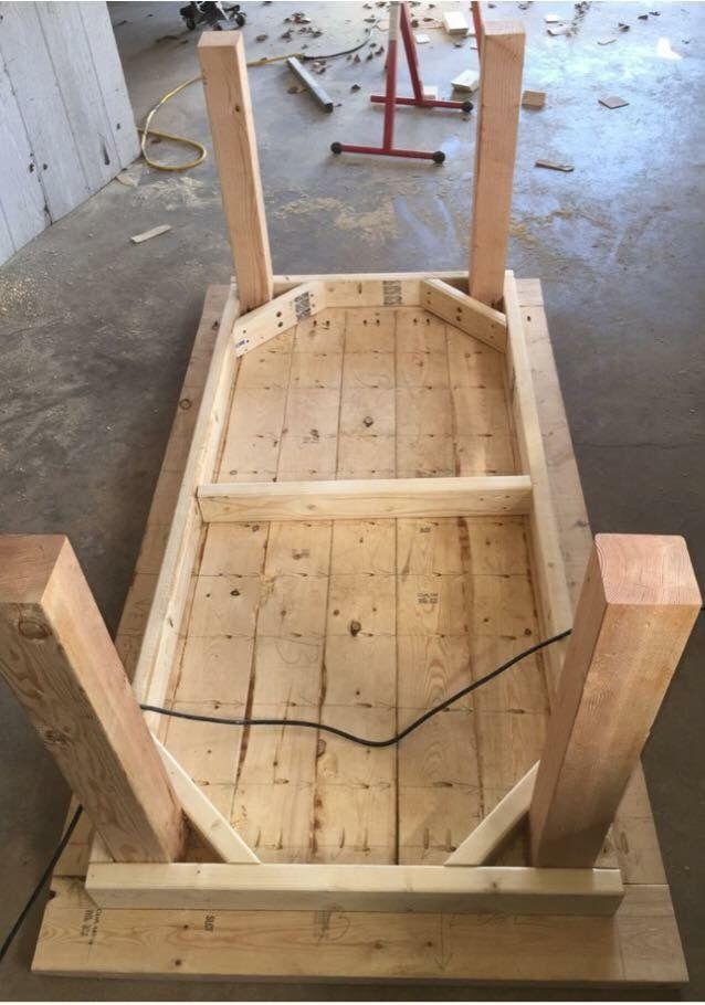 Pin von Ronnie Zanne auf Plan   Pinterest   Tisch, Holzmöbel und ...