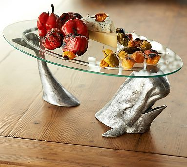 Whale Serve Stand #potterybarn