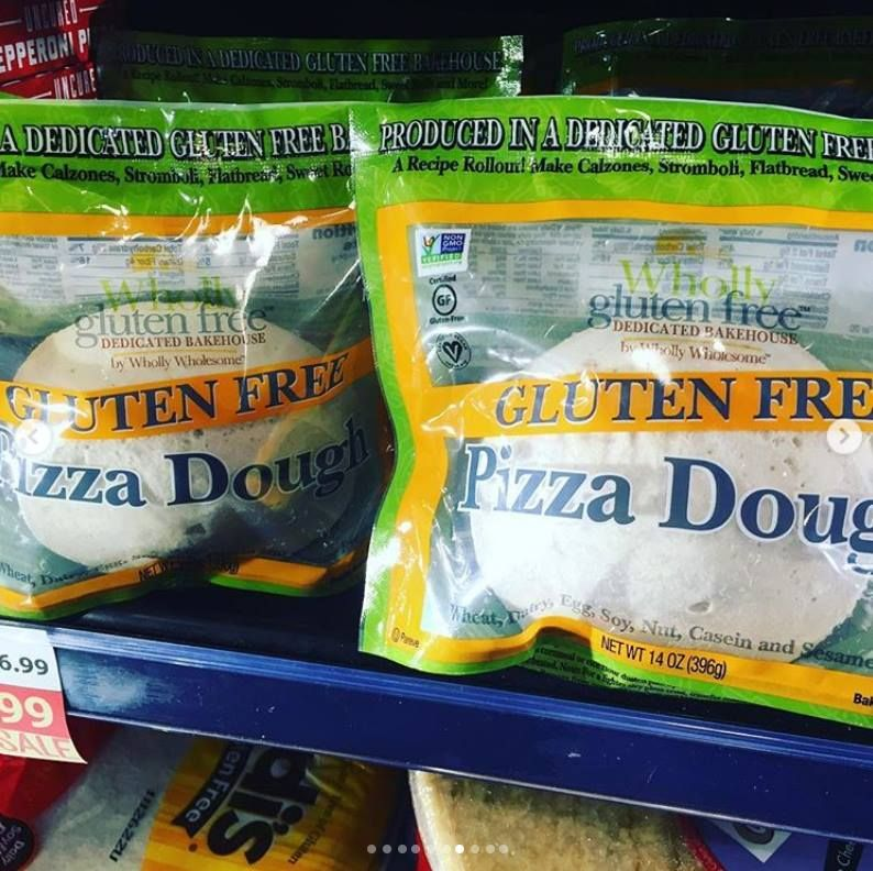 Spotted Glutenfree Vegan And Nongmo You Know Our Pizzadough Is A Real Winner Nnkroger And Mom S Org Moms Organic Market Gluten Free Organic Market