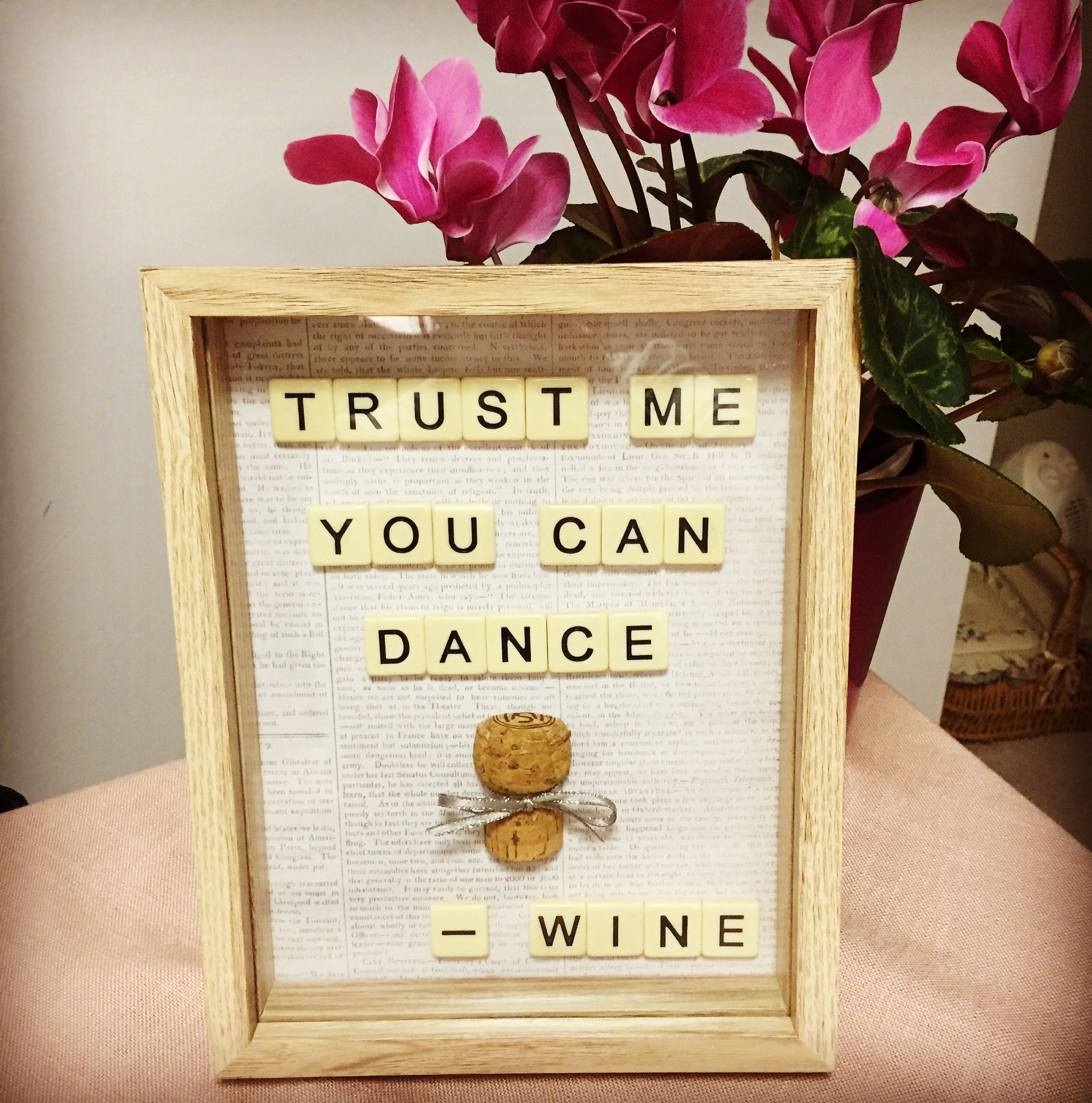 When Wine Whispers Trust Me You Can Dance Wine Quote