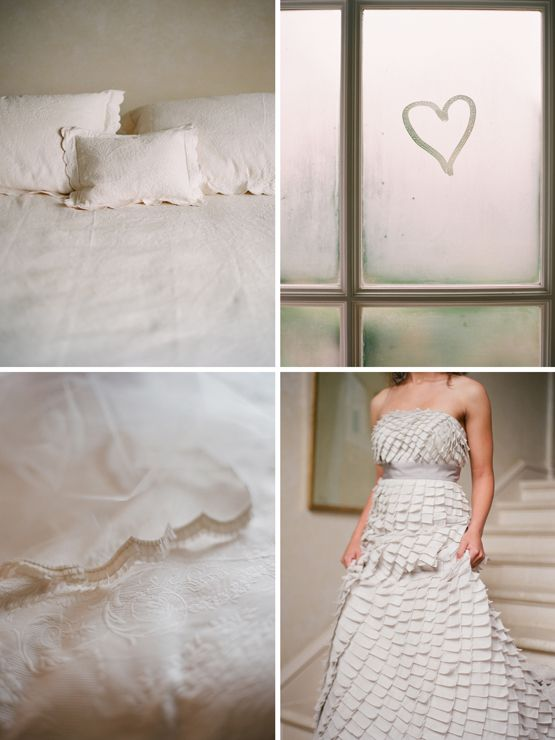 This dress is beautiful. I love the idea of doing something with foggy window writing in wedding photography