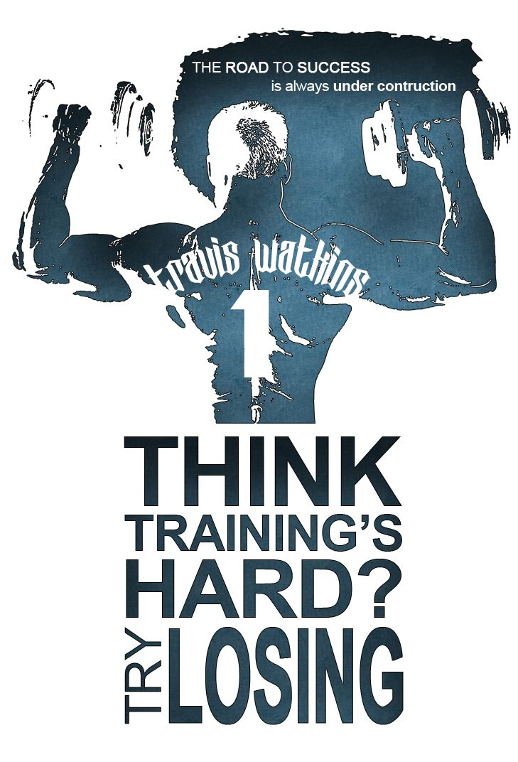 Logo Design For Travis Watkins Bodybuilding
