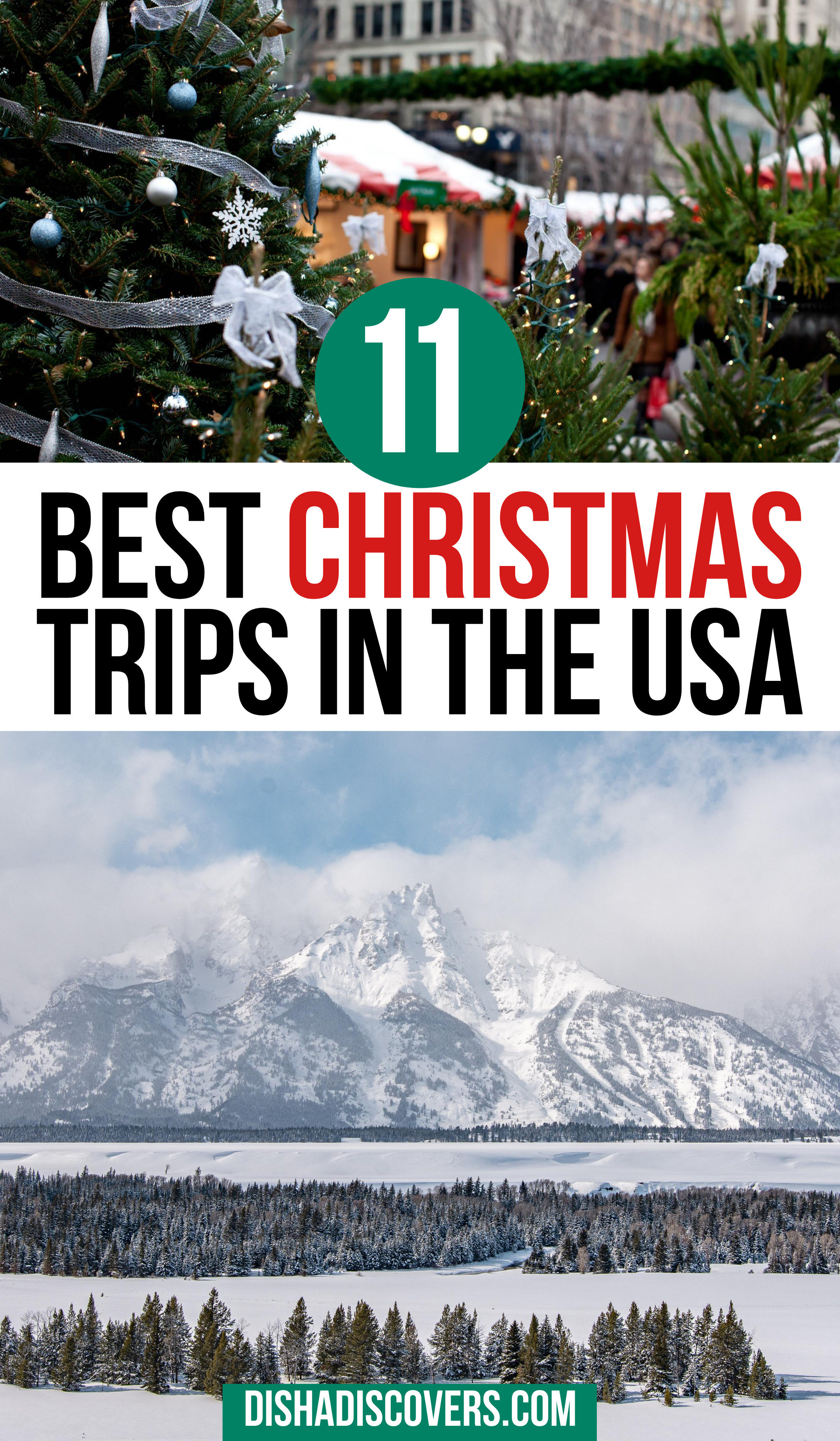 USA Christmas Destinations: 11 of the Best Holiday Getaways in