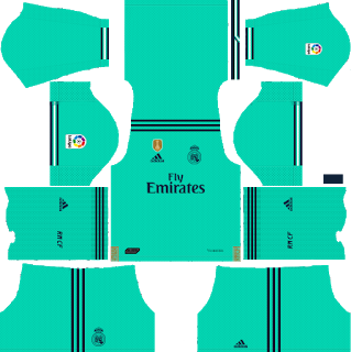 Dls New Real Madrid Kit Logo 2019 2020 Dream League Soccer In 2020 Real Madrid Kit Real Madrid Madrid Football Club