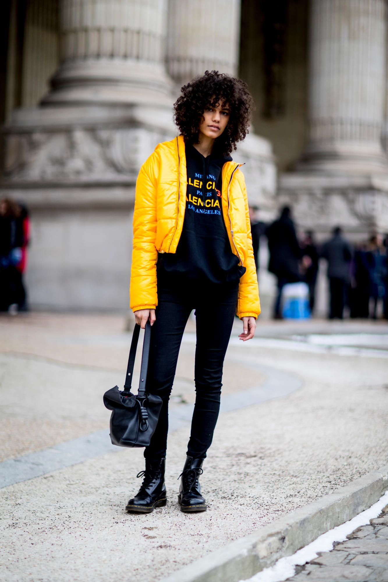 499ef36645 Puffers Were a Street Style Essential On Day 3 of Paris Fashion Week ...