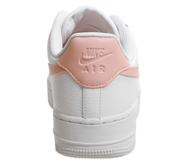 new high quality classic fit lace up in Nike Air Force 1 '07 Patent White Oracle Pink in 2019 ...