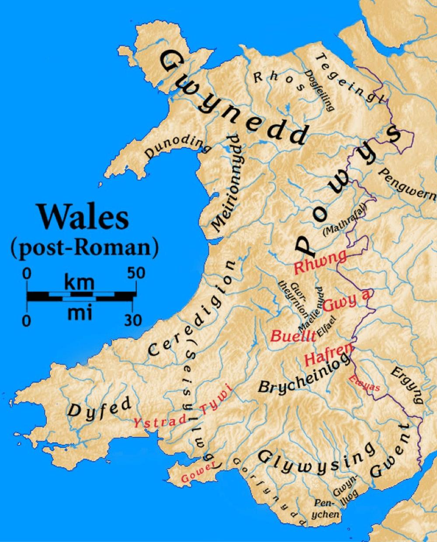 Map Of England Alfred The Great.Mapiau Darluniadau A Delweddau Gwahanol O Gymru Different Maps