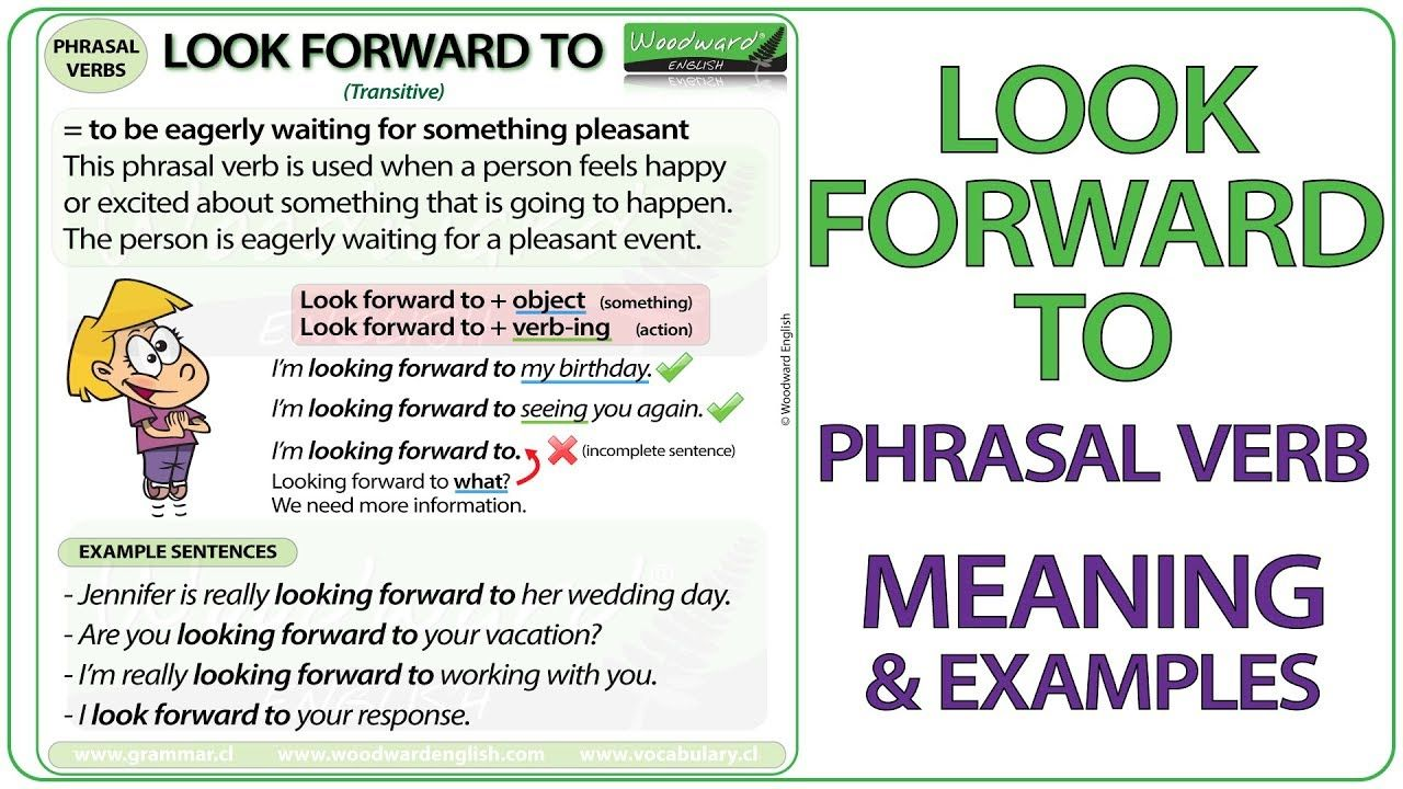Look Forward To Phrasal Verb Meaning Examples In English Phrasalverbs Learnenglish Lookforwardto En Good Vocabulary Words Good Vocabulary Learn English [ 720 x 1280 Pixel ]