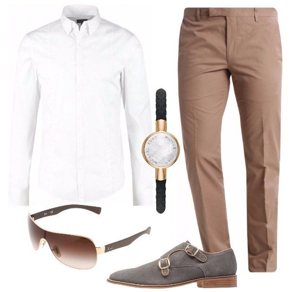 Senza giacca: outfit uomo BusinessElegante per cerimonia