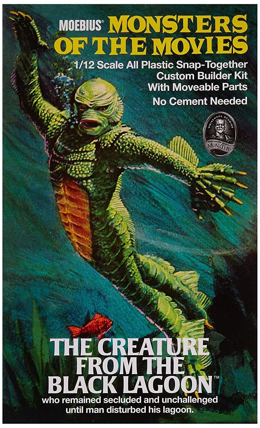 Creature from the Black Lagoon Moebius Monsters of the