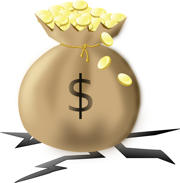 this clip art of a heavy money bag filled with gold coins is in the rh pinterest co uk Black and White Money Bag man with money bags clipart