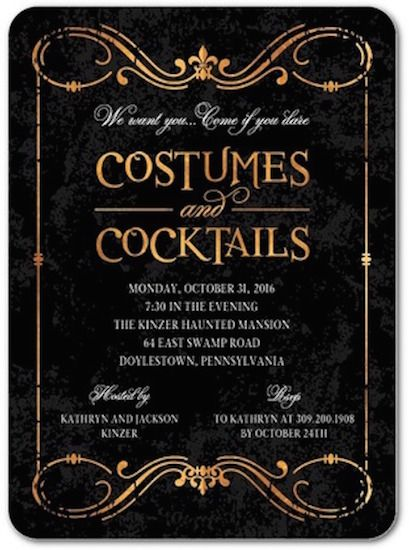 14 Best Halloween Invitations For A Spirited Bash Birthday Halloween Party Halloween Party Invitations Halloween Wedding Invitations