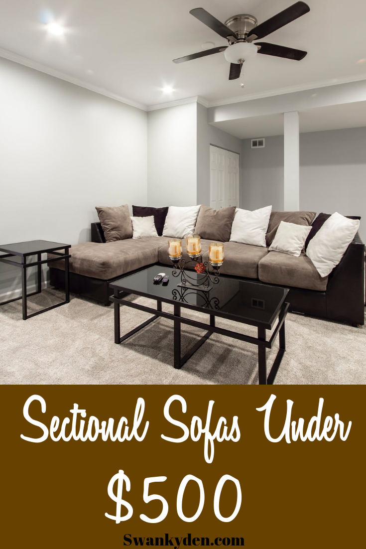 best cheap sectional sofas under 500
