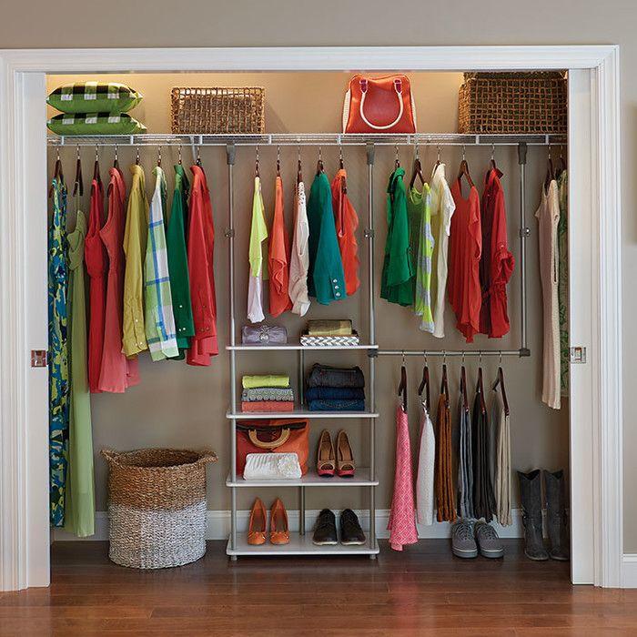 53 W Closet System Closet System Closet Organization Designs
