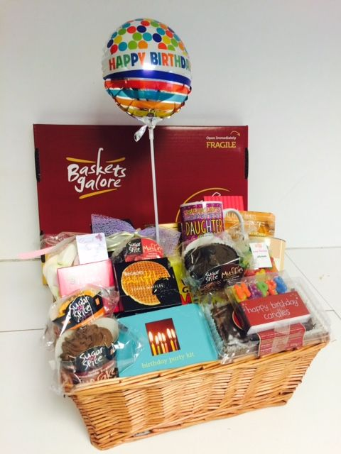 Sugar And Spice All Things Nicea Gift Basket Packed Of Sweet For A Special Daughter On Her Birthday