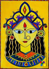 Image Result For Easy Madhubani Paintings To Draw African Art Paintings Madhubani Art Madhubani Painting