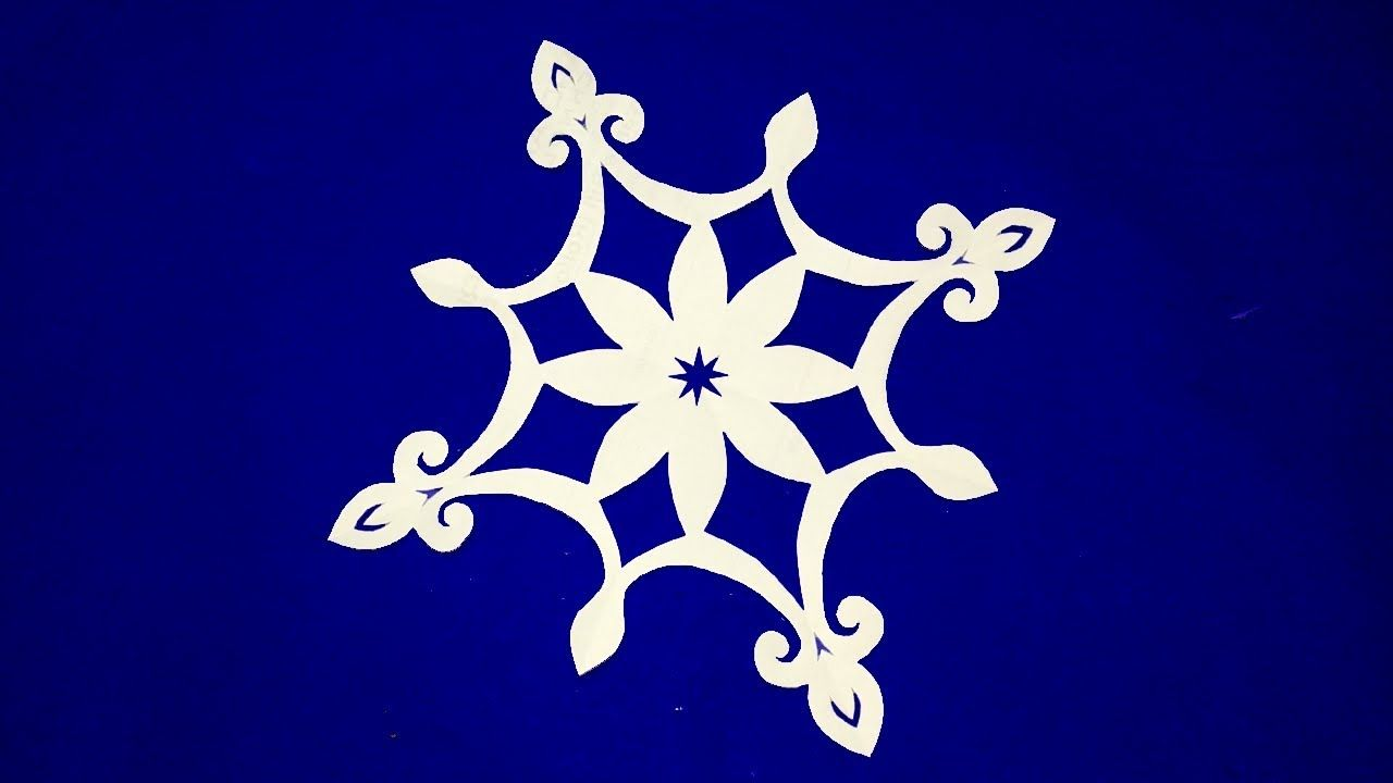 Paper Cuttinghow To Make Easy Paper Cutting Flowers Step By Step
