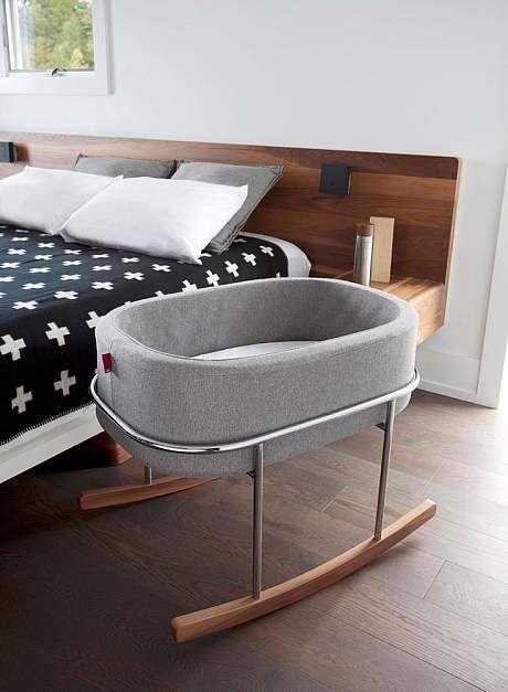 Monte Design Modern Rockwell Bassinet Baby Furniture Baby Bed