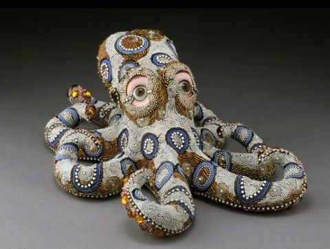 Betsy Youngquist - Beaded Mosaic Sculpture