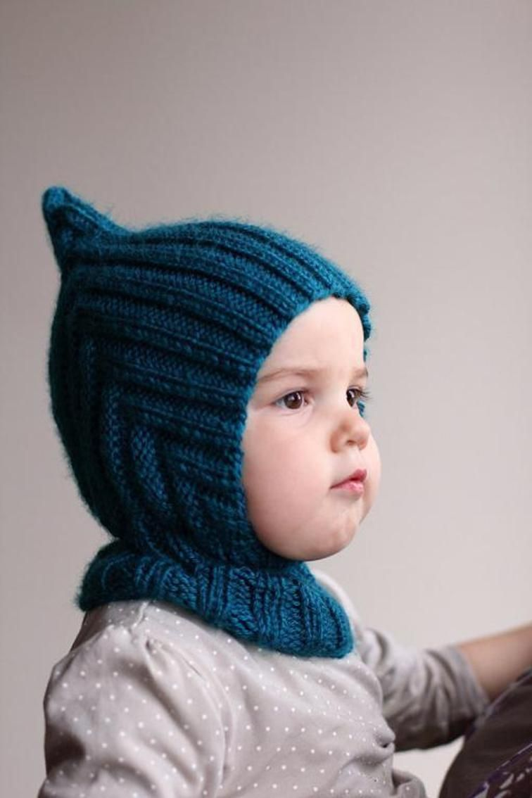 Knit Balaclava - Pixie Hooded Scarf | Knitted hats kids ...
