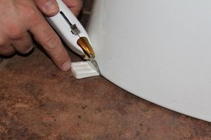 Easy Fix For A Wobbly Toilet Home Repair Toilet Repair Home Repairs