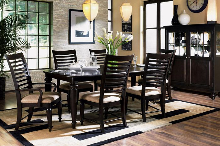 Somerset Dining Room Group by Kincaid Furniture Furniture
