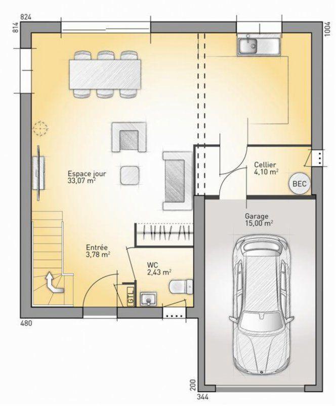 Plan maison neuve à construire - Maisons France Confort Patrimonia
