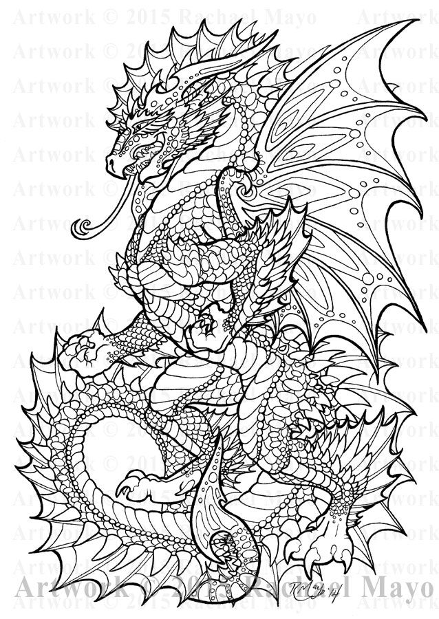 Onyx Herald lineart by rachaelm5   colouring pages #3   Pinterest ...