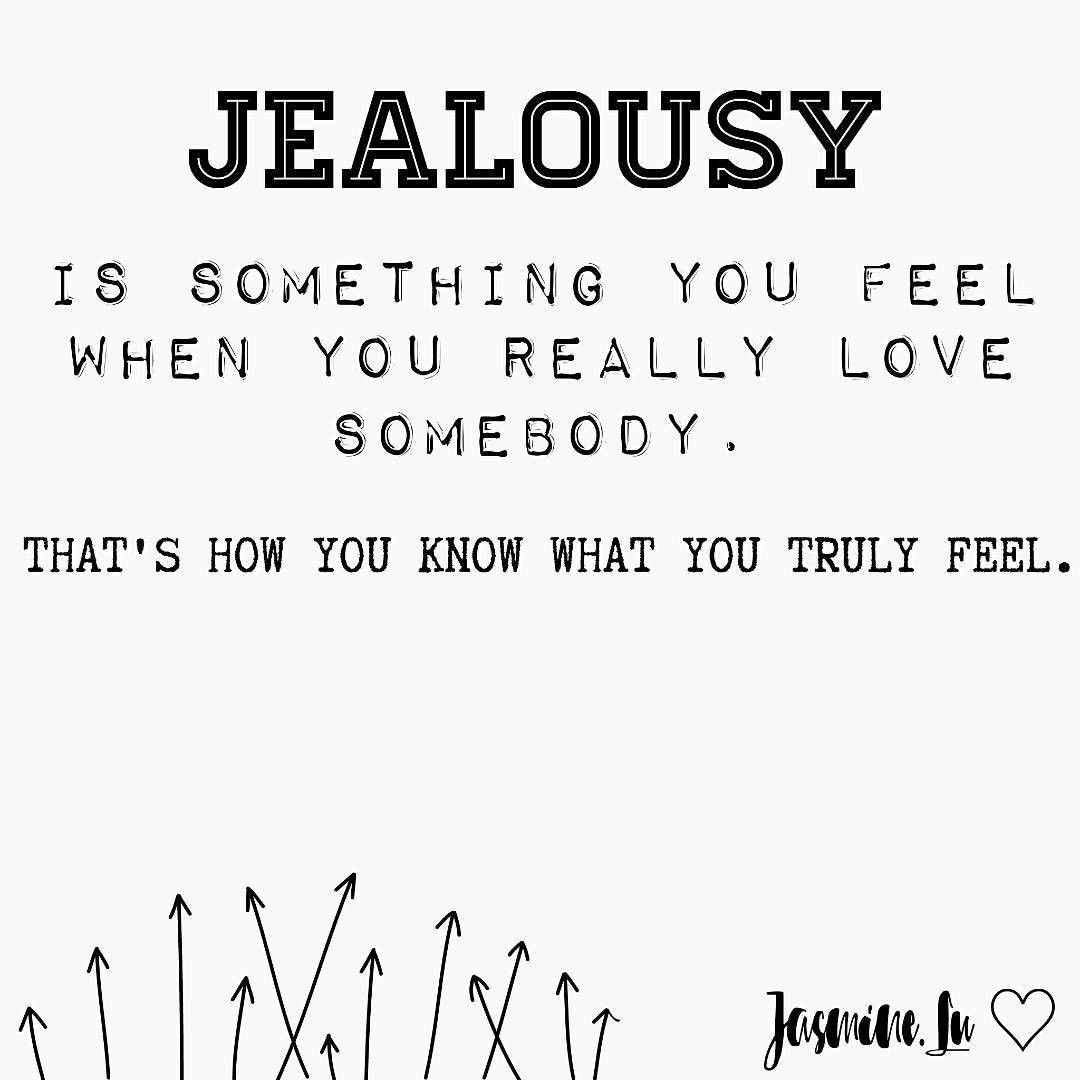 How to control jealousy