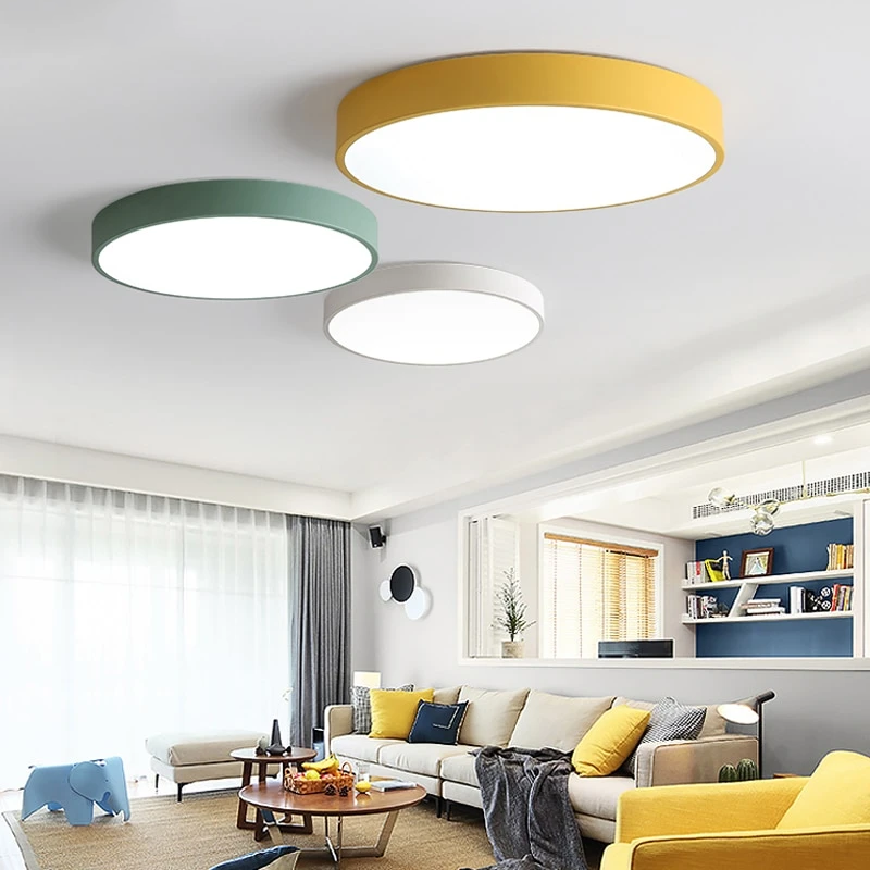 Bedroom Ceiling Control Fixture Flush Kitchen Lamp Led Light Lighting Living In 2020 Modern Ceiling Lamps House Lighting Fixtures
