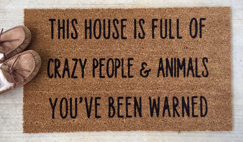 Funny Doormat Funny Door Mat Funny Doormats Funny Door Etsy Custom Doormat Funny Doormats Door Mat