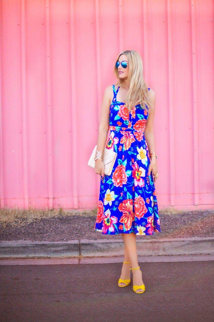 8ab799d157ee8 blue floral dress