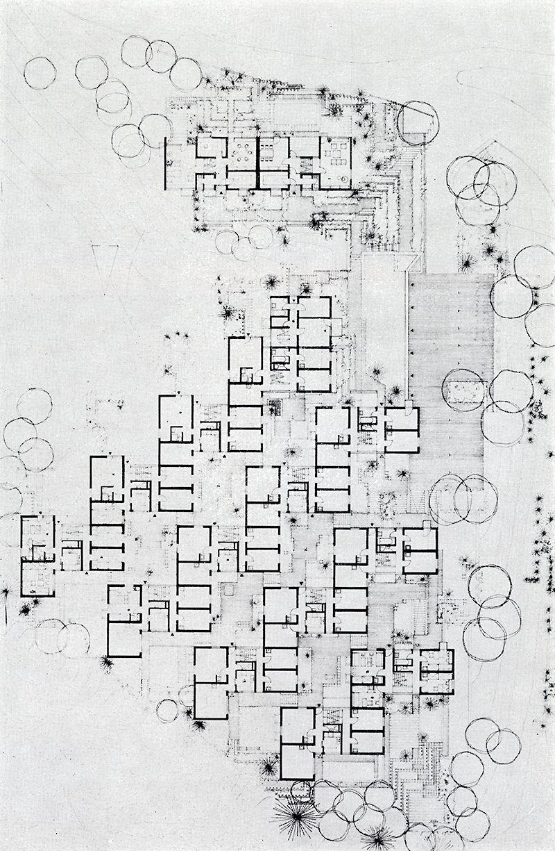 Hans Kammerer, Walter Belz, Hans Luz. Casabella 323 1968