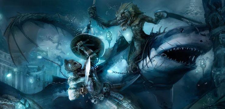 Interview with Aquatic Gaming Guru, Emily Kubisz   Painting