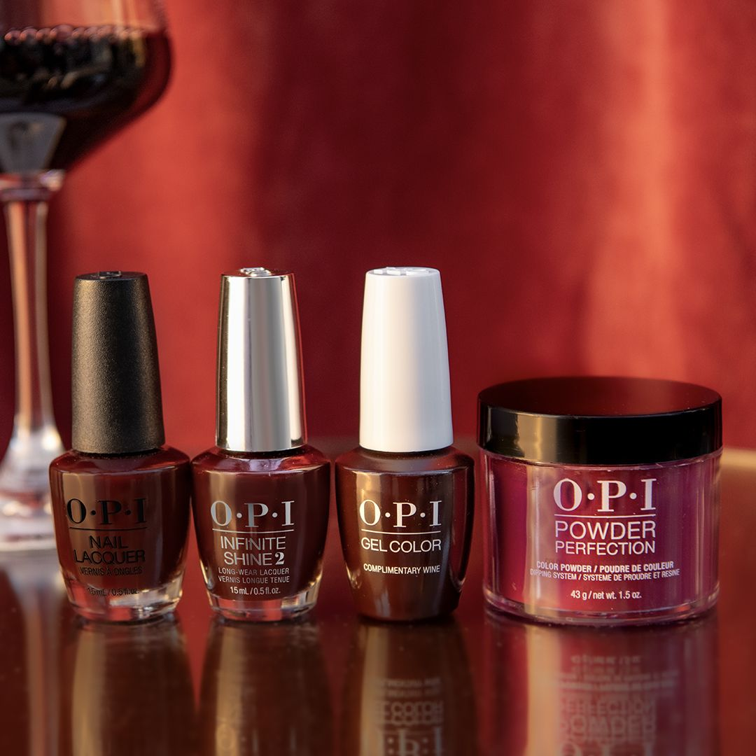 Our Fall2020 Collection Would Not Be Complete Without Complimentarywine Cheers And Enjoy This Gorgeo In 2020 Long Lasting Nail Polish Interview Nails Burgundy Nails