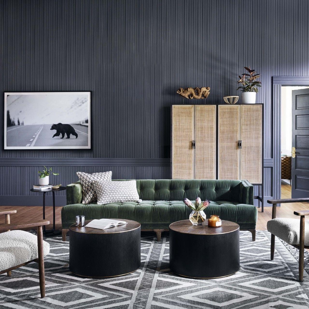 Dylan Mid Century Modern Olive Green Velvet Tufted Sofa In 2020 Mid Century Lounge Chairs Velvet Tufted Sofa Velvet Lounge Chair #redding #gray #living #room #collection