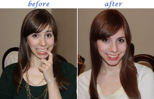 This is the before and after I am looking for | Hair Ideas ...