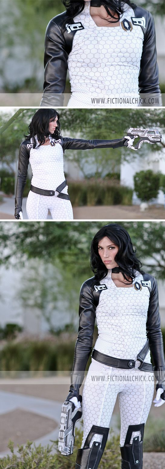 Miranda Lawson #Cosplay #MassEffect // Model: Sarah Diane // Outfit by www.siqclothing.com