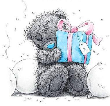 картинки с мишками тедди с подарками сложные