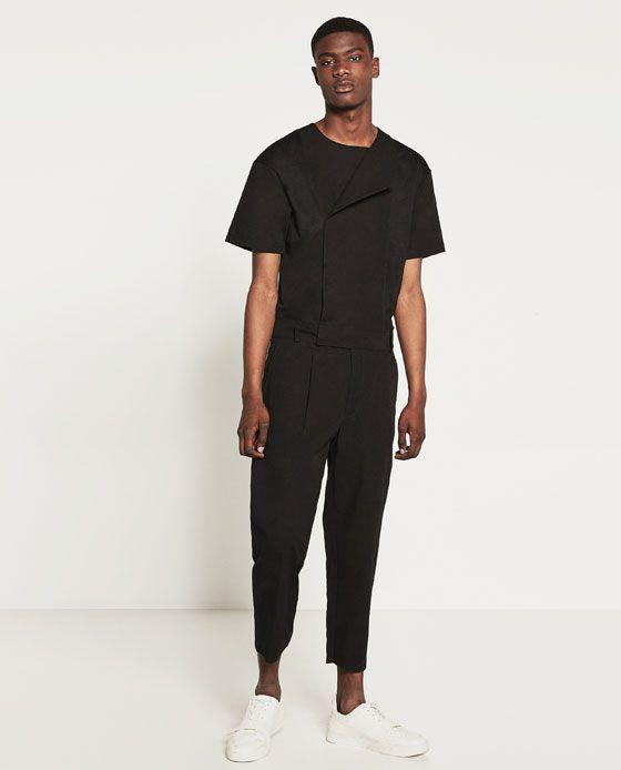6f278fb951 Image 1 of DARK JUMPSUIT from Zara | grool in 2019 | Zara jumpsuit ...
