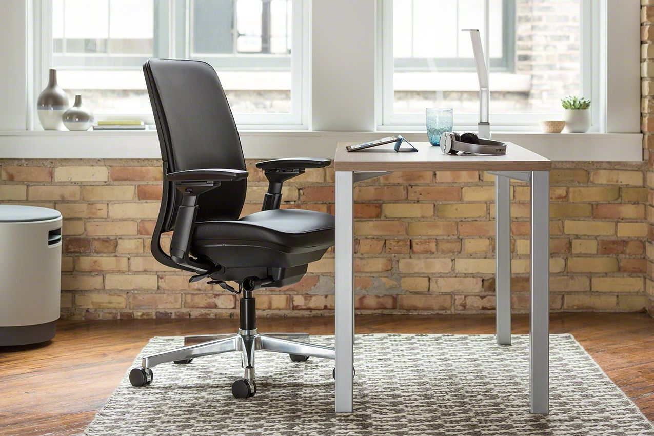 the clean lines of the currency martin desk by steelcase fits into  - the clean lines of the currency martin desk by steelcase fits into anyoffice decor