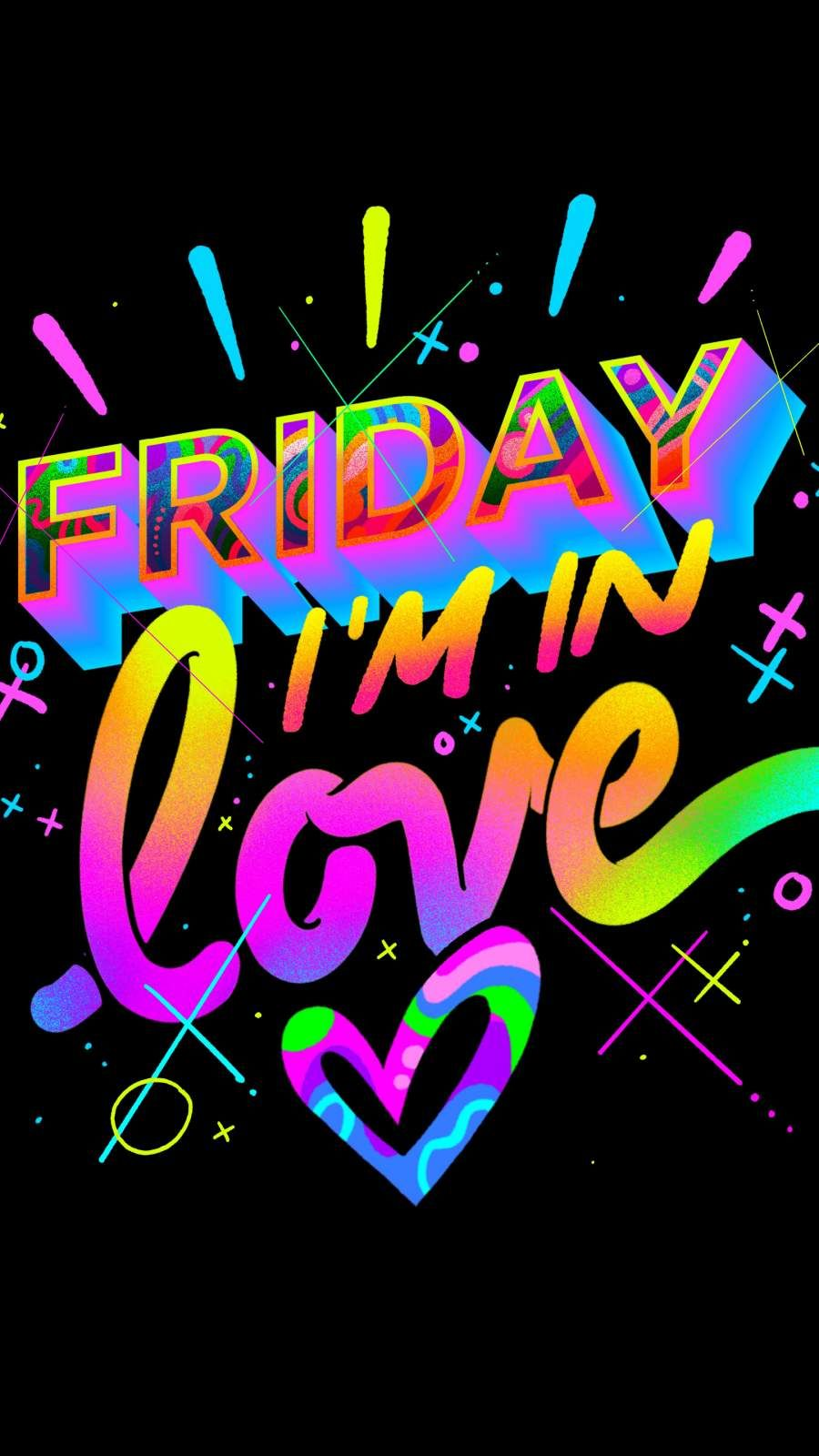 Friday I m In Love iPhone Wallpaper from iphoneswallpapers.com