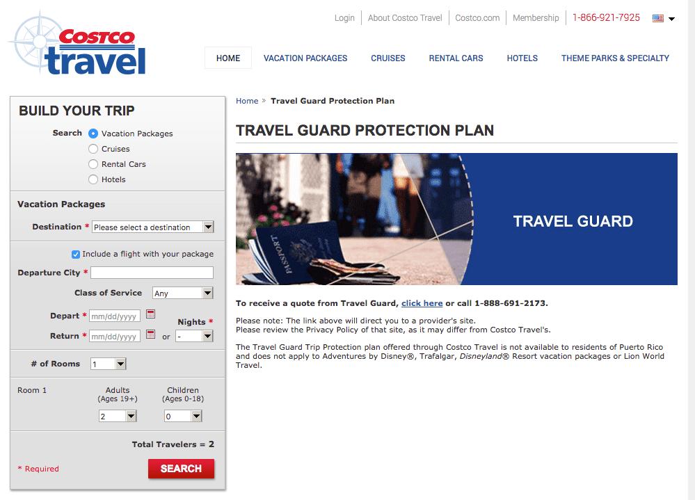 costco travel insurance company review aardvarkcompare  Costco