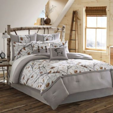 True Timber Snowfall Comforter Set Found At Jcpenney Bedroom