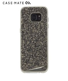 Case-Mate Shree Glam case - Black for Samsung Galaxy S7 protects your slim line phone maintaining the sleekness and simplicity of the handset.