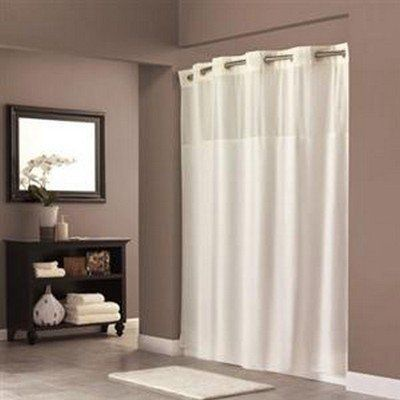 Hookless Fabric Shower Curtain Beige By Hookless Www Amazon Com