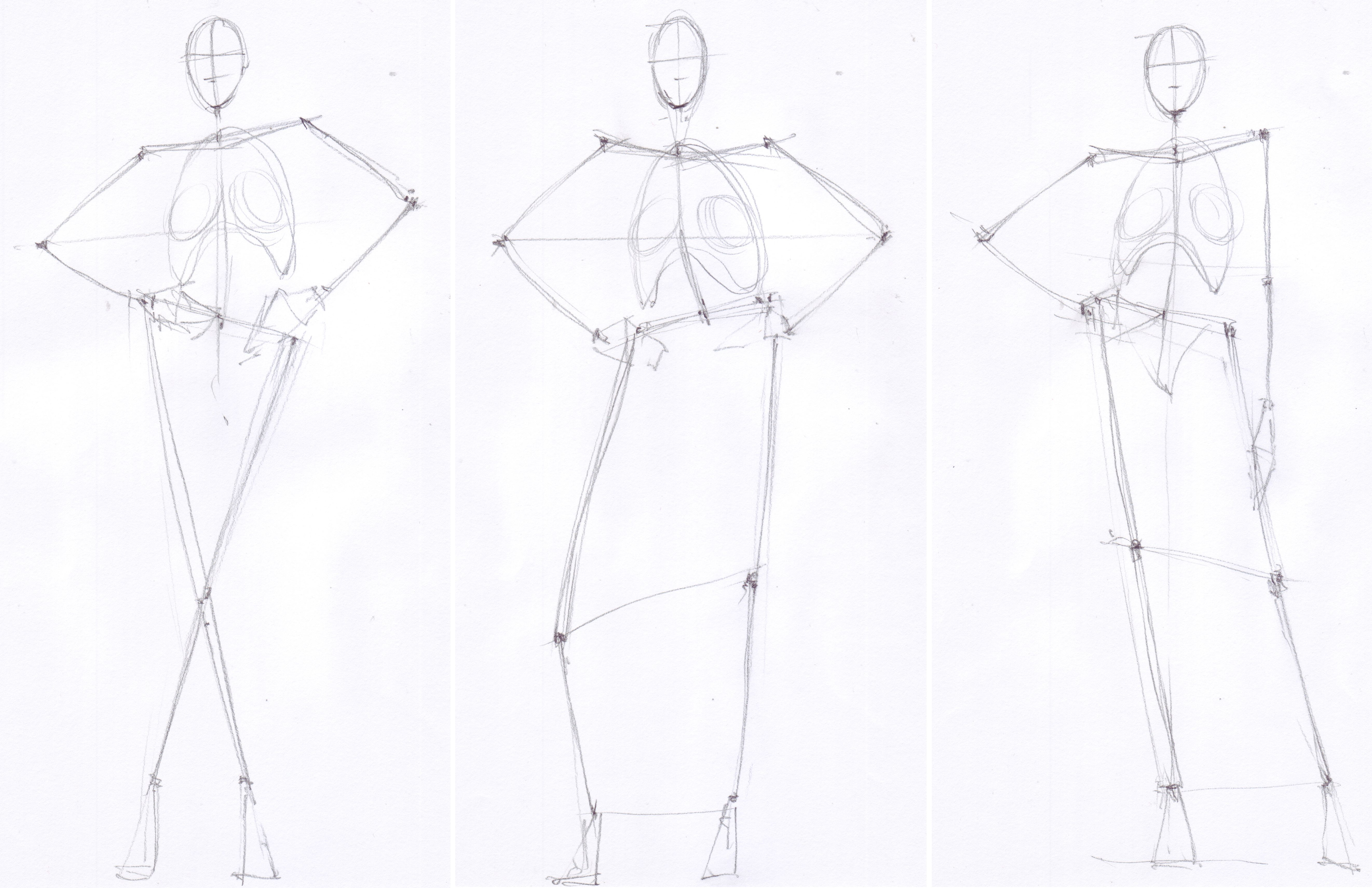 Learn How To Draw Fashion Sketches In 3 Steps