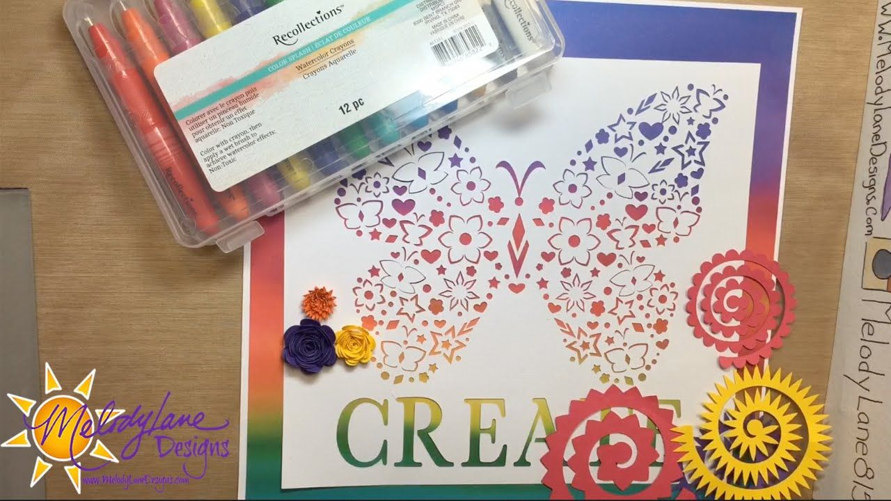 Cricut Rolled Flowers Recollections Crayons Cricut Explore